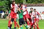 Karlovarská Slavia na úvod podzimní části remizovala 2:2 s rezervou Příbrami.