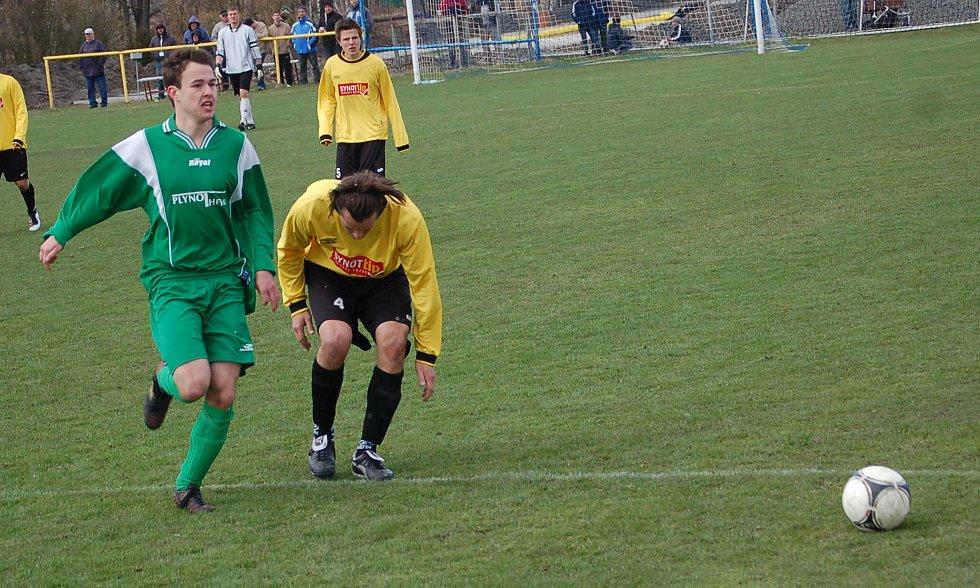 Krajský přebor: BU Nové Sedlo - FC Františkovy Lázně