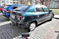 Dopravní nehoda v Chodově