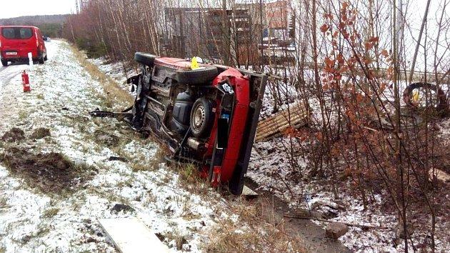 Nehody v Karlovarském kraji.