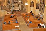 Koncert v kostele sv. Vavřince v Chodově.