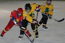 Z utkání mládeže HC Baník Sokolov.