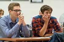 STUDENTI  a žáci provětrali mozkové závity při Logické olympiádě