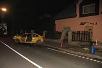 Nehoda ve Starém Sedle. Řidič byl opilý.
