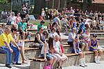 Festival dechových hudeb v Březové u Sokolova.