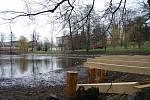 V parku roste relaxační zahrada
