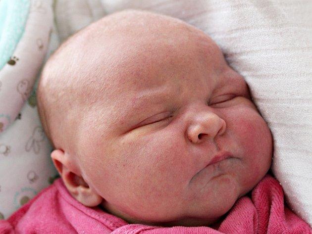 Viktorie Jetenská ze St. Sedla se narodila 6.4.2017