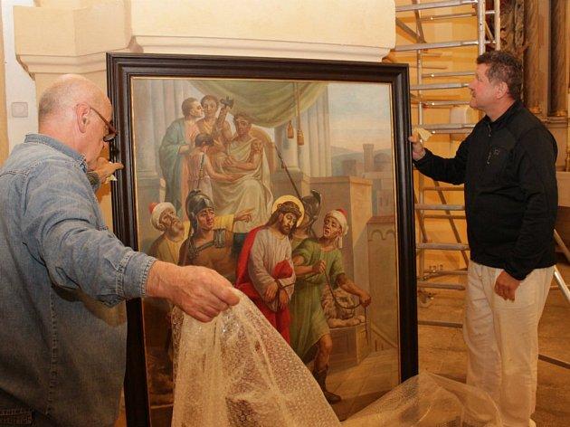 Restaurátorské práce v kostele sv. Vavřince usilují o cenu NPÚ.