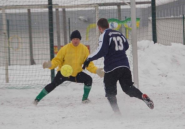 Zimní turnaj SSZ: Baník Habartov - BU Nové Sedlo