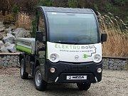 Elektromobil sokolovských technických služeb