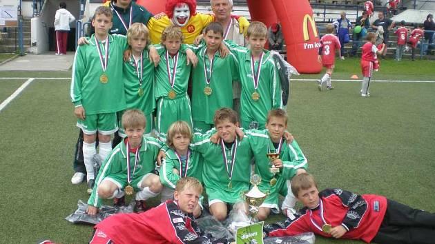 Vítěz krajského finále McDonald´s Cupu, žáci I. ZŠ Sokolov.