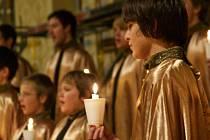 Chlapecký sbor Pueri Auri vystoupí v klášterním kostele od 19 hodin.