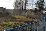 Vodárna v Sokolově, kde má vzniknout nové parkoviště