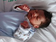 Braien Daniš z Chodova se narodil 16. října
