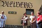 Výroční oslavy na Bleibergu.