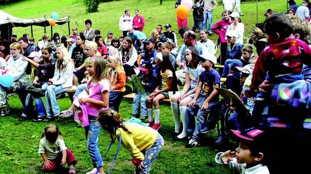 Den dětí v Březové.
