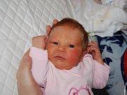 ANIČKA ŠEDIVÁ z Úbočí u Dolního Žandova se narodila 22. února