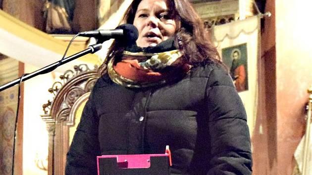 Předsedkyně NF Ještěřice Miluška Merklová.