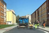 Rotavská hlavní ulice.