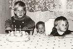 Tomáš Savka při oslavě druhých narozenin