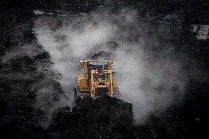 Toxické kaly z ostravských lagun se spalují na Sokolovsku.