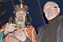 V Lokti přivítal nový rok Karel IV.