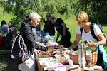 První prázdninový den se konala komunitní snídaně pod hřebenskými finalistkami.