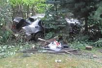Nehoda opilého řidiče.