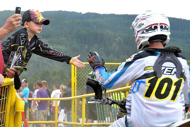Mistrovství světa v motokrosu v Lokti.