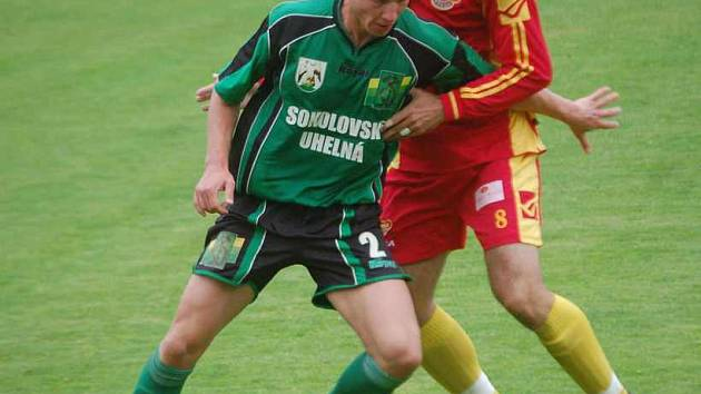 Oleg Duchnič (v souboji s obranou Dukly) byl jeden z mála, který podal solidní výkon.