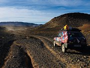 Lenka a Cyril zvládli náročný závod v marocké poušti. Fiat Panda zdolal 9000 kilometrů dlouhé dobrodružství.
