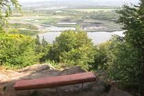 Pohled z vyhlídky Chodaublick.