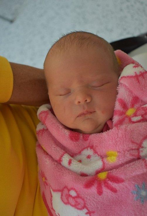 Eliška Kulišanová z Chebu se narodila 21. července 2020 v Sokolovské nemocnici.