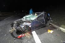 Tragická nehoda na dálnici D6.
