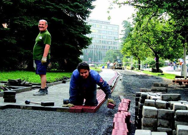 výstavba cyklostezek vedoucích Sokolovem je u konce