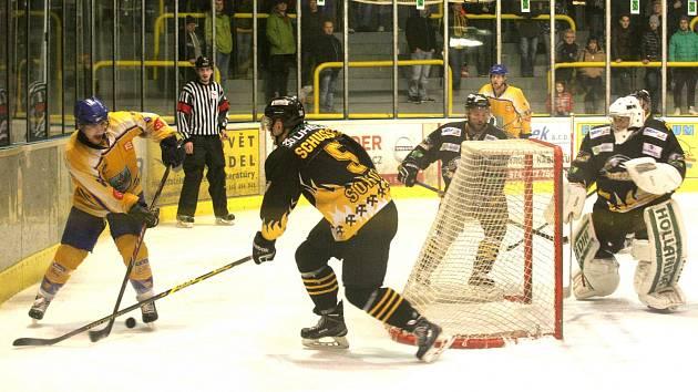 Play off II. hokejové ligy: Sokolov - Klášterec