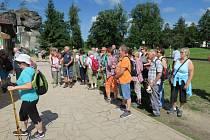 Turisticko-poznávací zájezd Slaměnky na Náchodsko.