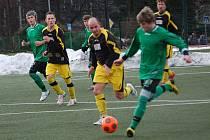 Zimní turnaj SSZ: OSS Lomnice - FK Baník Sokolov mladší dorost 2:0
