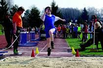 ŠKOLÁCI si v Chodově užívali atletické závody Kinderiáda.