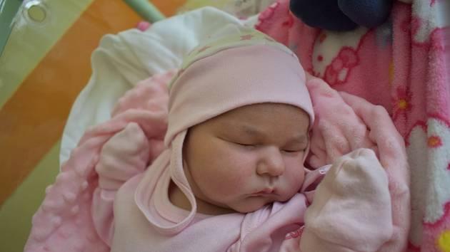 Elena Kroščenová ze Sokolova se narodila 21. července 2020 v Sokolovské nemocnici.