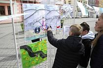 Staré náměstí ožilo dětskými obrázky