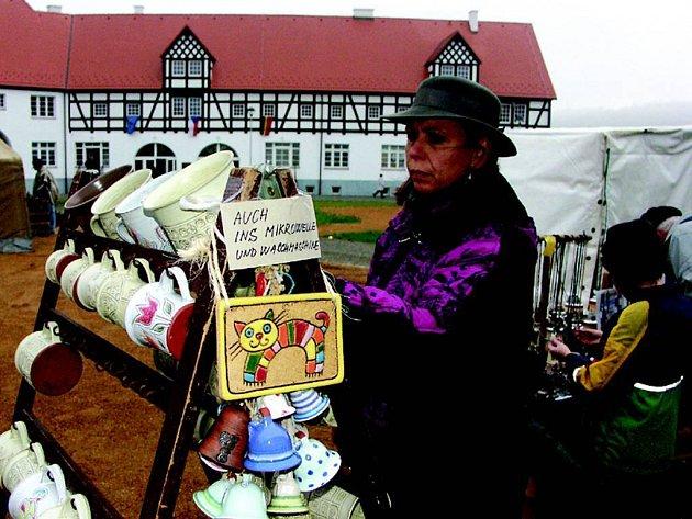 Součástí setkání dechových hudeb na statku Bernard v Královském Poříčí bude i staročeský jarmark.