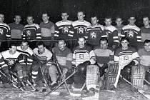 Soustředění národního mužstva v Karlových Varech v 50. letech