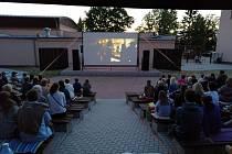 Letní kino v Březové.