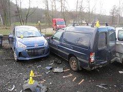Sobotní nehoda v Lokti