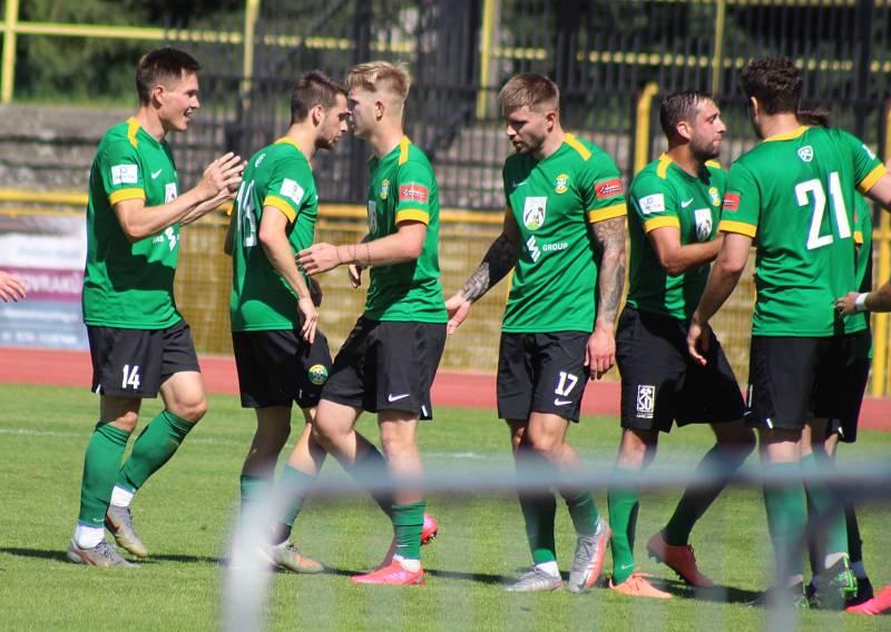 ČFL: FK Baník Sokolov - FK Motorlet Praha