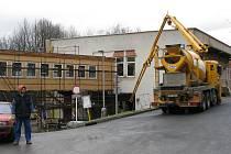 REKONSTRUKCE pavilonu F sokolovské nemocnice by měla trvat do konce ledna.