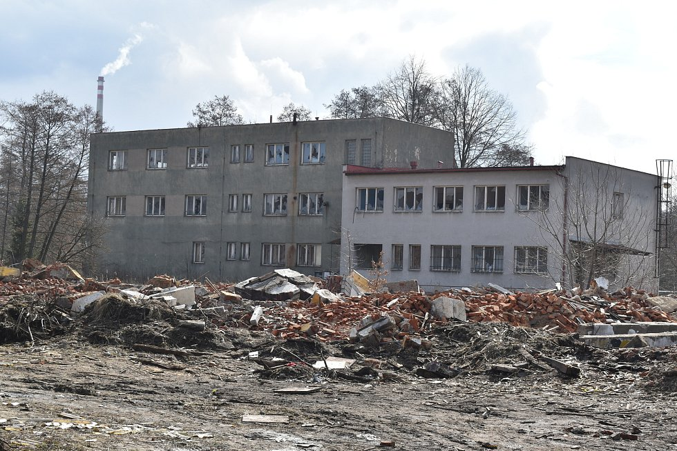 Na místě bývalého depa budou výrobní haly, sklady a parkoviště