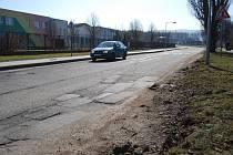 Silnice, kterou čeká letos oprava