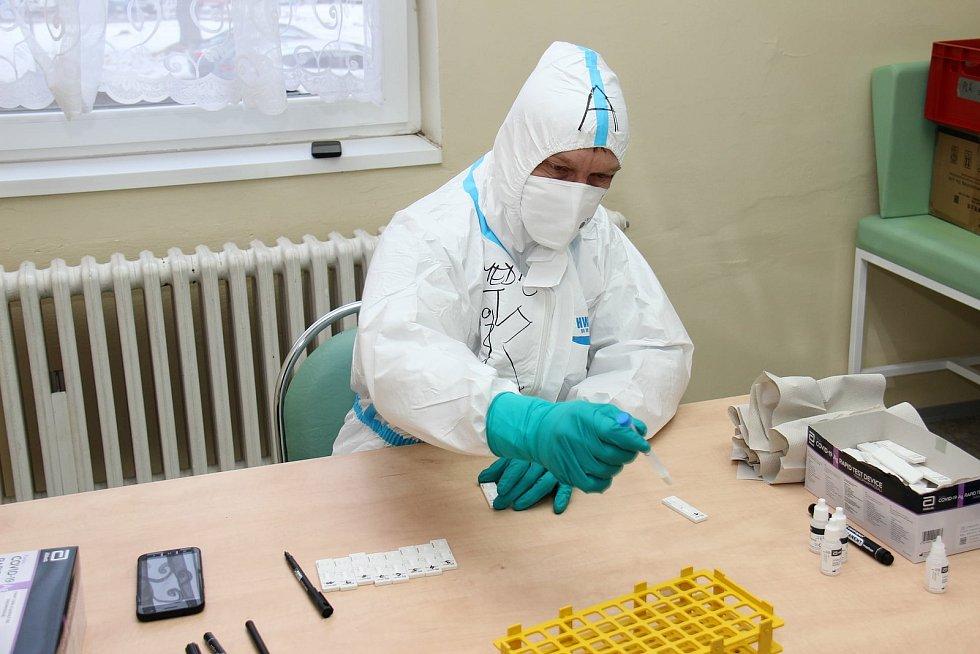 Hasiči testovali v Sokolovské uhelné.
